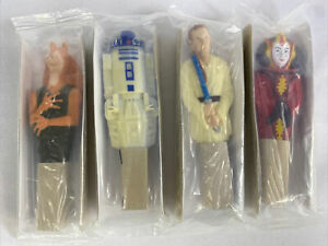 Star Wars Lot of 4  Pens General Mills Cereal NEW Sealed