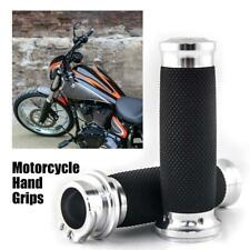 "Motorcycle 1"" Hand Grips Throttle 25mm For Kawasaki Vulcan 1500 1600 1700 2000"