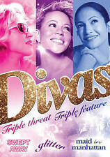 Divas:Triple Threat Triple Feature(DVD2016) SWEPT AWAY/GLITTER/MAID IN MANHATTAN