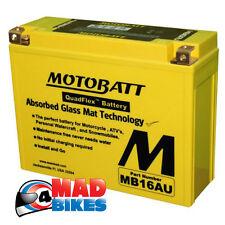 Motobatt * Agm * Super Sellado Gel batería Ducati 916 20% extra de salida de potencia