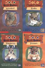 Solo Bush Babies 4 books Wombat, Koala, Kangaroo, Possum LEARNING TO READ