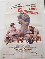 "THE LAST GRENADE 1970 Original Movie Poster One Sheet 27"" x 41"""