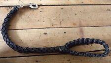 Solid 21 inches Dog Training Heavy Duty Nylon Rope Leash