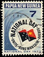 """New listing Papua New Guinea 352 (Sg224) - National Day """"State Flag"""" (pa20984)"""