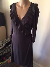 SZ 12 REVIEW WRAP DRESS  BUY FIVE OR MORE ITEMS GET FREE POST