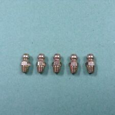 BSF Grease Nipples Straight 1/4BSF Packet Of 5