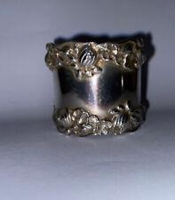 GORHAM Pond Lily Sterling Silver Napkin Ring. No Monogram