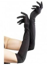 Beautiful Long Black Gloves  Gothic Flapper Sexy Costume Accessory