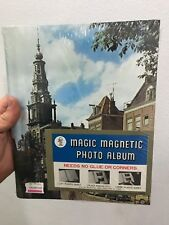 Magic Magnetic Photo Album Hardcover New