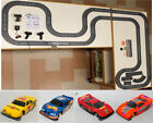 1993 UNUSED TYCO TCR Slotless Slot Car Total Control RACE SET 34ft + 6 Vehicles!