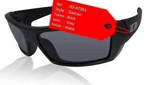Oakley Gascan 03-473 Matte Black Frame Grey Authentic Sunglasses 0OO9014