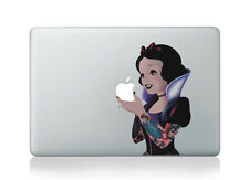 Snow White Princess Disney Goth Sticker Vinyl Decal Macbook Air/Pro/Retina 13""
