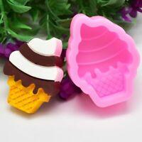 cocina Cake Decorating Reposteria Molde de silicona Ice Cream Molde de hornear