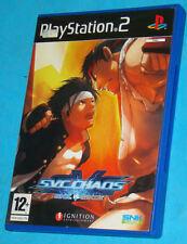 SVC Chaos - Snk vs. Capcom - Sony Playstation 2 PS2 - PAL