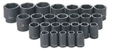 "Grey Pneumatic GRY 1326M 1/2"" Dr. 26 Pc Metric Master Impact Socket Set"