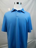 Champion XL Men's Golf Polo Shirt Blue Duo Dry Short Sleeve Pullover
