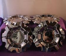 GIO Chrome Wheel Center Caps FOUR (4)  pn:324L165 324885