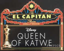 Disney Pin 118017 DSSH Queen of Katwe Marquee Chess Piece Soda Fountain LE 300