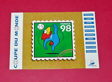 FOOTBALL CPA CARTE POSTALE COUPE DU MONDE FRANCE 98 FOOTIX N°11 1998