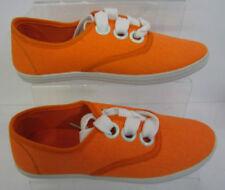 Scarpe da donna arancione casual senza marca
