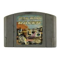 Star Wars Episode I: Racer (Nintendo 64, 1999) Authentic Tested Works