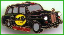 Hard Rock Cafe LONDON BLACK TAXI Gold Radiator Dotted Line PIN Logos 1LC HR 4882