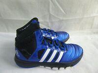 New! Boys Adidas AdiPure Crazy Ghost Shoes   G99077 Size 6 BlueBlackSilver  1J