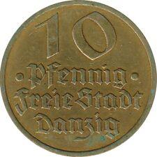Freie Stadt Danzig 10 Pfennig 1932*