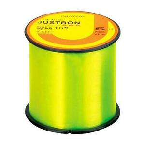 Daiwa Nylon Line JUSTRON DPLS 500m #3 Yellow Fishing Line New