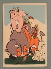 Oumpah Pah Uderzo Carte Postale 3004 Flock Indus feutre annees 60 rare