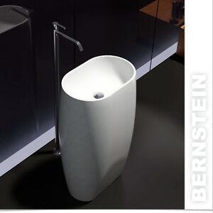 Vasque lavabo totem  PB2034 - 53 x 39 x 90cm, avec ou sans robinet