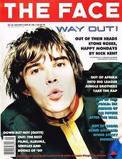 THE FACE 1/1990 IAN BROWN Stone Roses WEEGEE Jennifer Jason Leigh HAPPY MONDAYS
