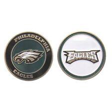 NFL Philadelphia Eagles Golf Ball Marker Enamel Metal Team Logo 2 Sided Hat