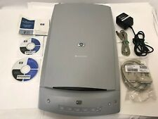 HP SCANJET 5400c Series Flatbed Scanner with Cords Discs Copier Computer Color