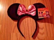 01fcafb628e NEW Disney MINNIE MOUSE HEADBAND Halloween COSTUME ACCESSORY Pink Polka Dot  Bow