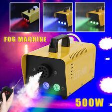 500W 13 farben LED Nebelmaschine DIsco Party Fog Rauchmaschine Fogger Nebelgerät
