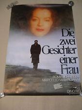 DIE ZWEI GESICHTER EINER FRAU - Poster Plakat gerollt - ROMY SCHNEIDER