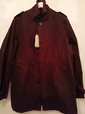 Baracuta Trench Coat Windbreaker Dark Brown Size 40