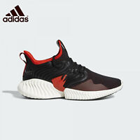 Adidas Alphabounce Instinct Black Red Running Shoe D97313 Men's Size 11.5
