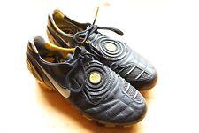 Rare Nike Total90 Laser II K-FG Black/Yellow Men's Soccer Cleats  size 6.5