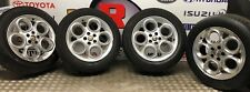 "ALFA ROMEO 147 156 SET OF FOUR SPEEDLINE TELLEDIAL 16"" 6.5J ALLOY WHEELS"