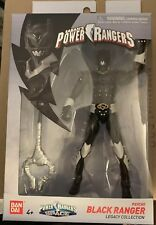 Power Rangers In Space Legacy Black Psycho Ranger