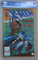 UNCANNY X-MEN #256 (1989) PGX 9.4 (NM) Like CGC White Pages - 1st new Psylocke