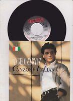 """7 """" Angelo Fabiani - Canzone Italiana 1988"""