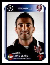 Panini Champions League 2010-2011 Nuno Claro CFR 1907 Cluj No. 329