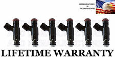 BEST UPGRADE Genuine Bosch Set Of 6 Fuel Injectors for Cadillac Buick 3.6L
