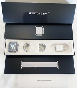 APPLE Watch Series 4 (GPS +CELL) Nike 44mm Silver Aluminum Case & More MTXA2LL/A