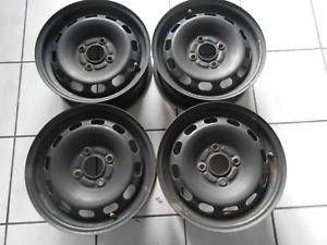4x Stahlfelgen 5,5jx14 ET37,5 Ford Fiesta VI 10/08-   (D1060)