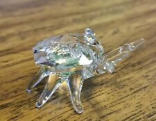 The Mobex Collection Austrian Crystal Crab Figurine, Vintage, Mint, Box