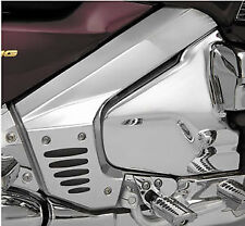 Show Chrome Frame Covers With Inserts for Honda GL1800 Gold Wing 2001-2013